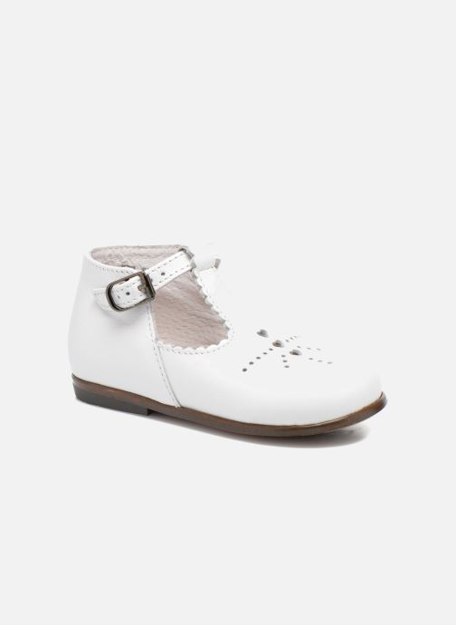 Bottines d'été Little Mary Floriane Blanc vue détail/paire